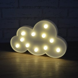 CARTEL LED NUBE